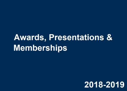 2018-2019 Career Center Awards, Presentations & Memberships