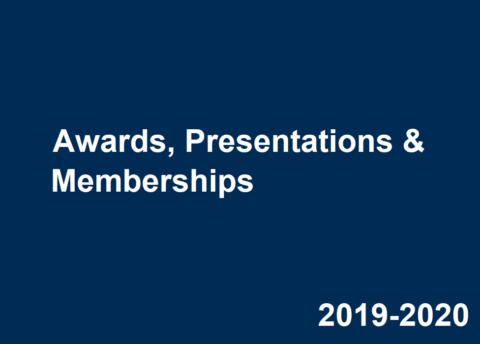 2019-2020 Career Center Awards, Presentations & Memberships