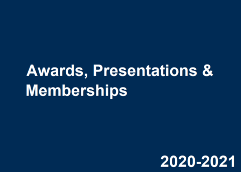 2020-2021 Career Center Awards, Presentations & Memberships