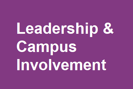 Become Career Ready through Leadership & Campus Involvement