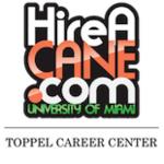 University of Miami Toppel Career Center Logo (from Handshake)