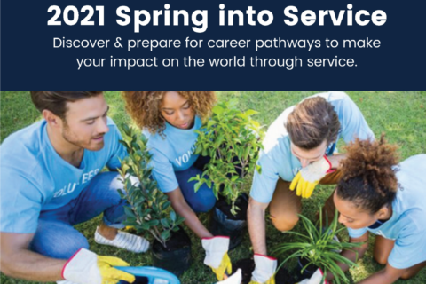 2021 Spring into Service Series Cropped Flyer
