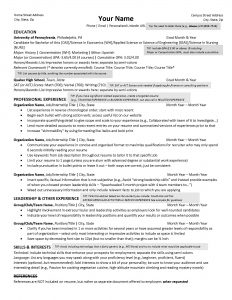 Career Services Resume Guide