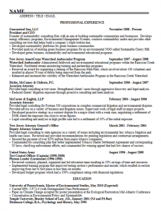 Master\'s student resume samples – Career Services ...