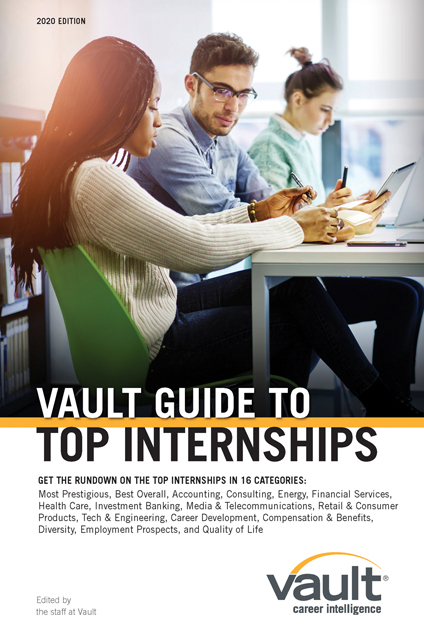 Vault Guide to Top Internships, 2020 Edition