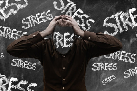 Burnout Person Dates Stress Baiting Man