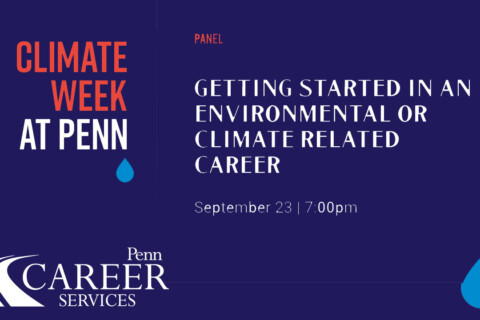 Getting Started in an Environmental or Climate Related Career thumbnail image