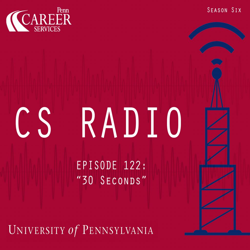 "CS Radio Episode 122: ""30 Seconds"""