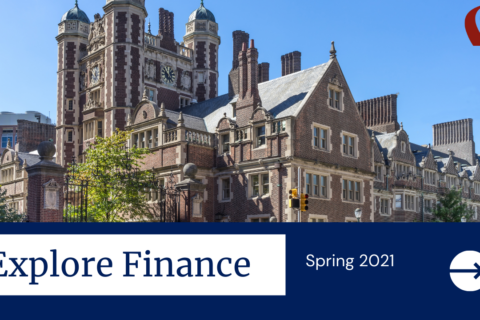 Explore Finance, spring 2021