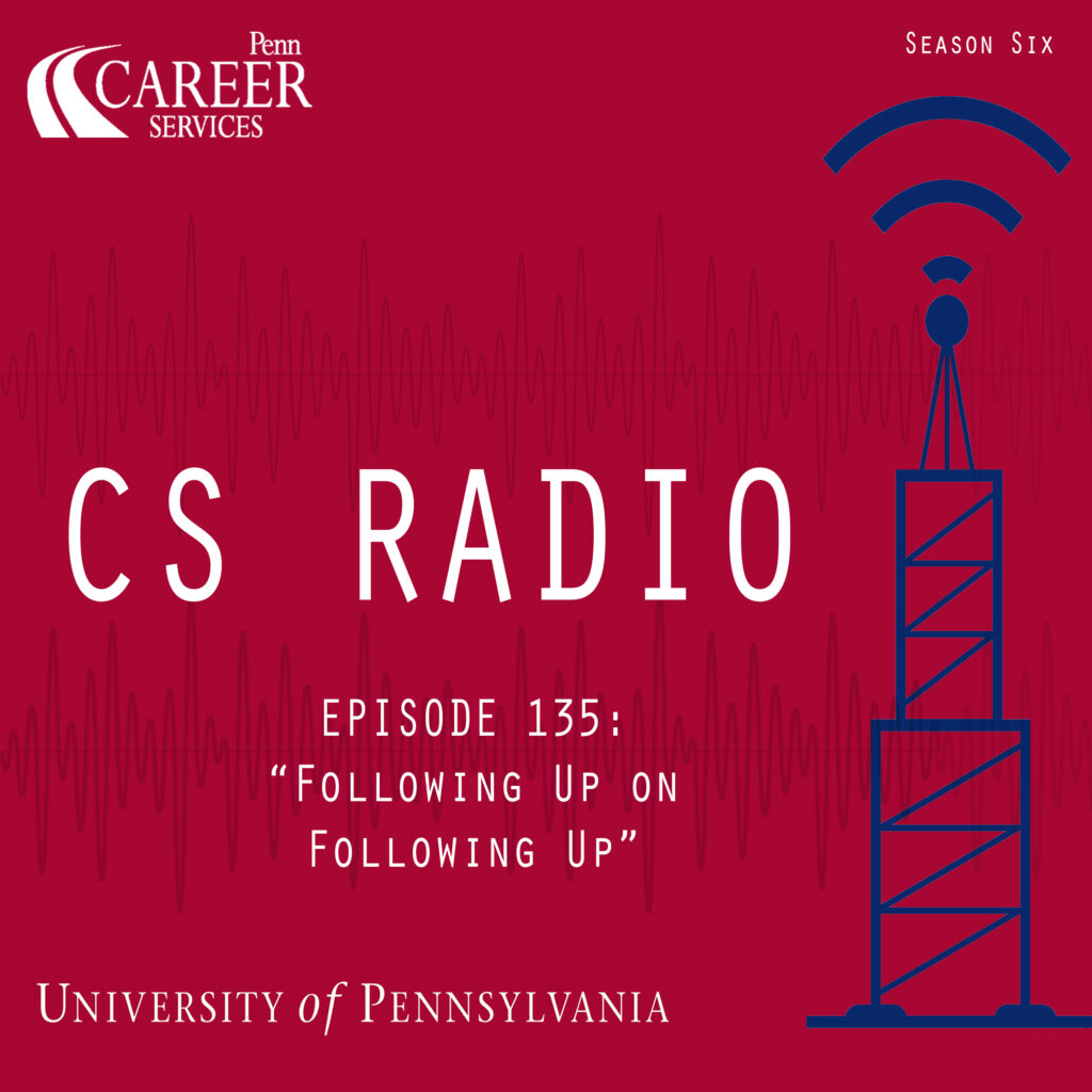 """CS Radio Episode 135: """"Following Up on Following Up"""""""