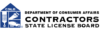 California Contractors State License Board logo
