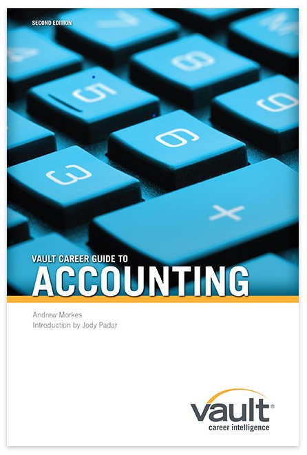 Firsthand's Vault Accounting Career Guides