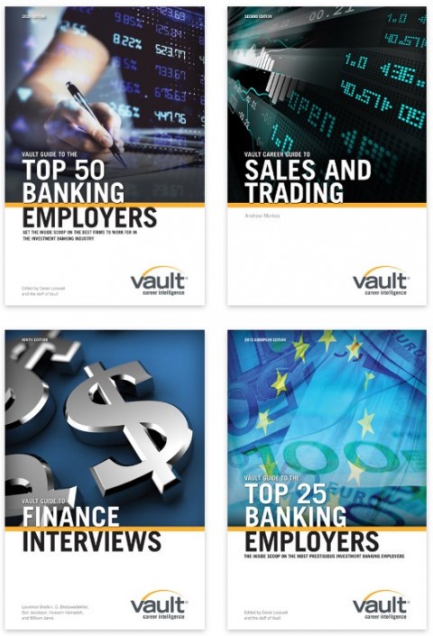 Firsthand's Vault Finance Career Guides