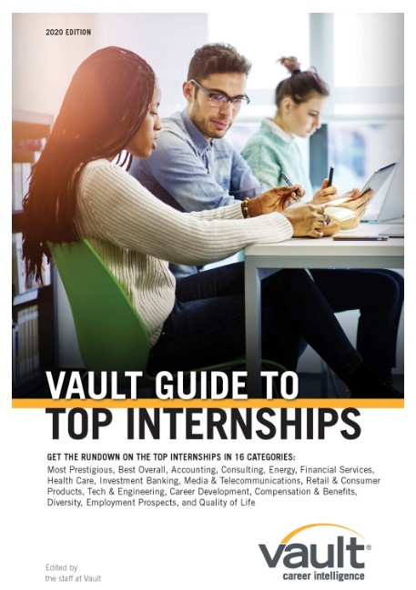 Vault Guide to Top Internships – 2020 Edition