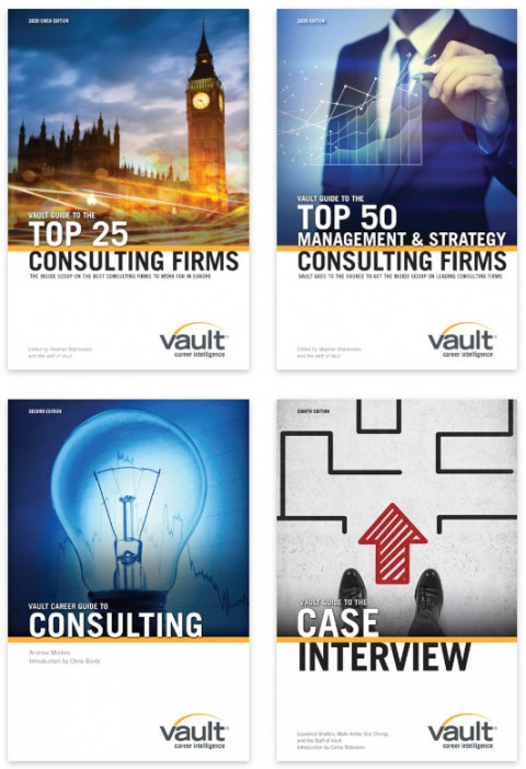 Vault's Management Career Guides