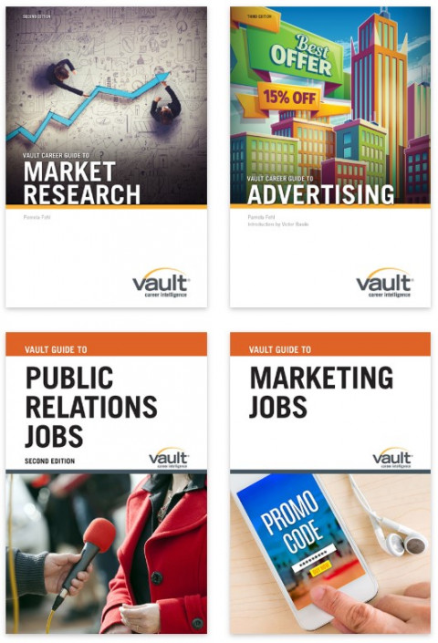Firsthand's Vault Marketing Career Guides