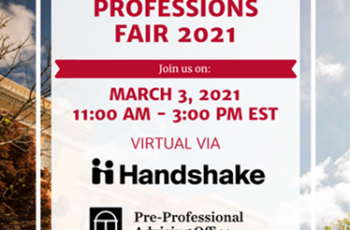 University of Georgia Virtual Health Professions Fair 2021!