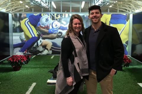 SHU NFL Visit