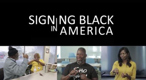 Signing Black in America