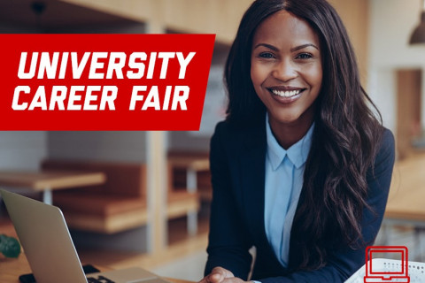 University Career Fair Website photo