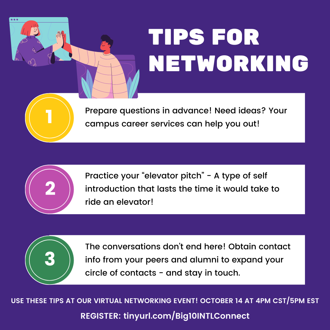 Tips on Networking