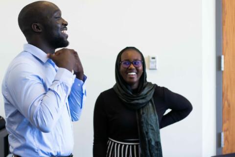 UCS_Credit Mohamed Komi_professional attire_smiles_preparation