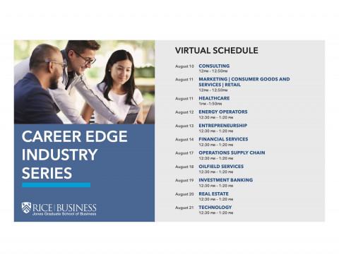 Career Edge Industry Series 2020